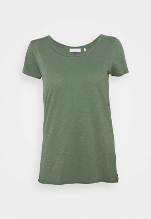 SLUB - Basic T-shirt - eukalyptus