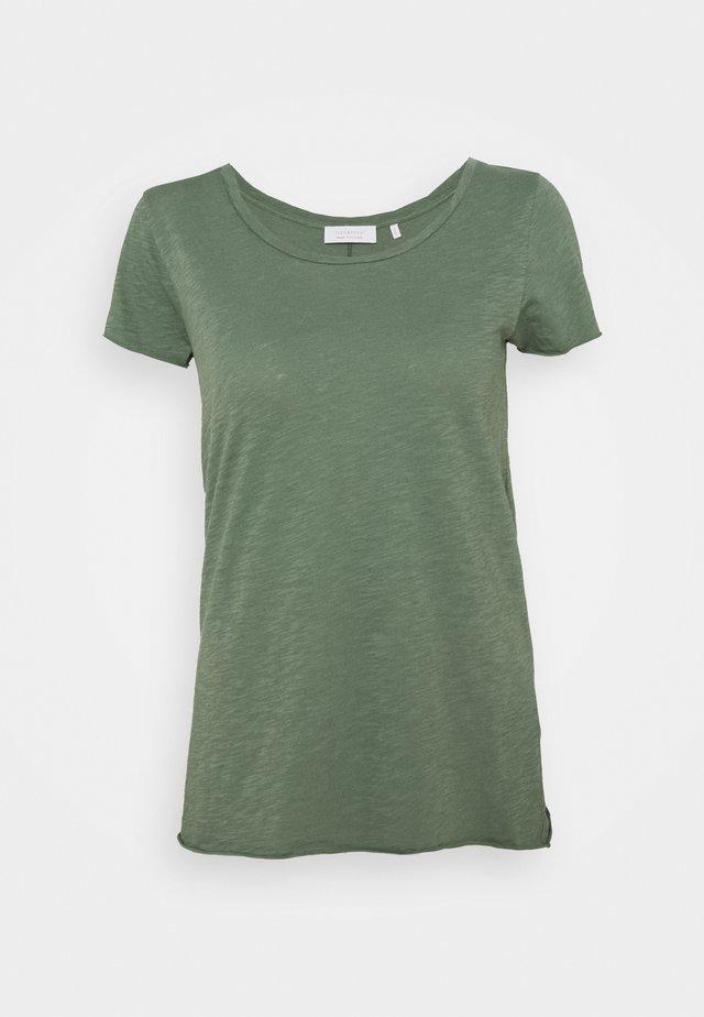 SLUB - T-shirts basic - eukalyptus