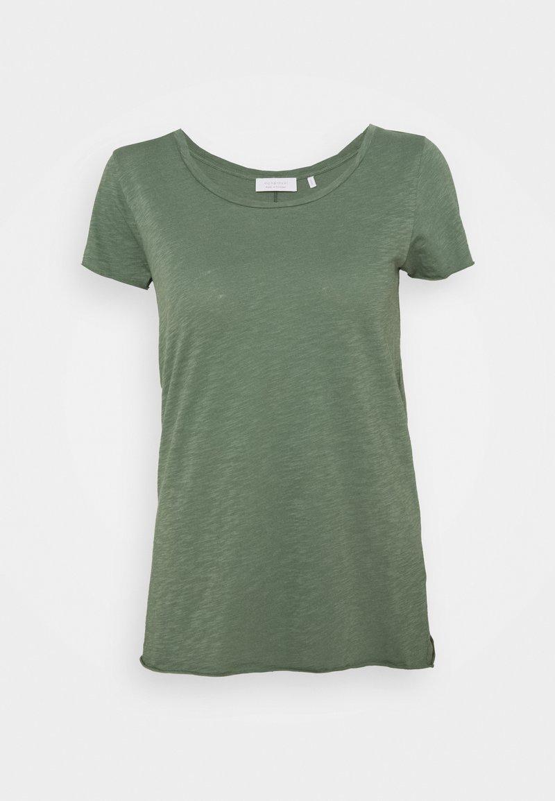 Rich & Royal - SLUB - T-shirts - eukalyptus