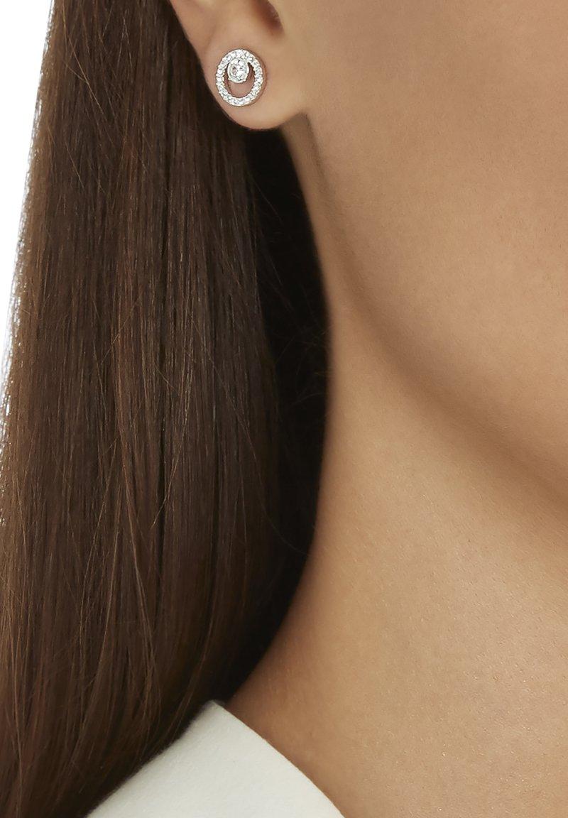 Swarovski - CREATIVITY SMALL - Boucles d'oreilles - silver-coloured