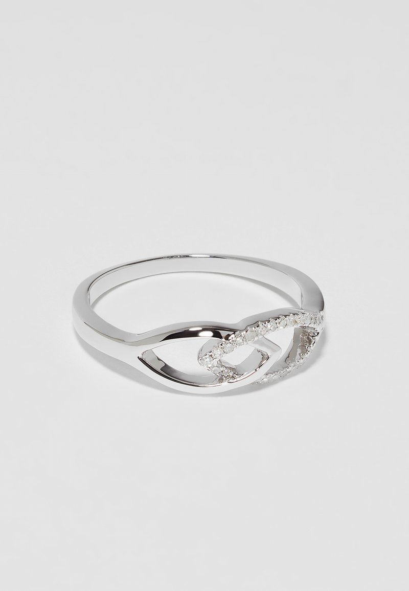 DIAMANT L'ÉTERNEL - WHITE GOLD - Ring - silver-coloured