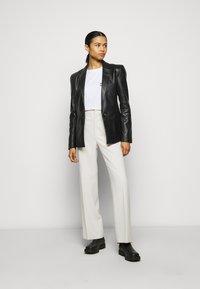 2nd Day - MILLER - Leather jacket - black - 1