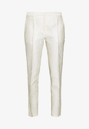LINDGAARD - Trousers - egg white