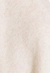 Davida Cashmere - OPEN PONCHO - Pláštěnka - light beige - 2