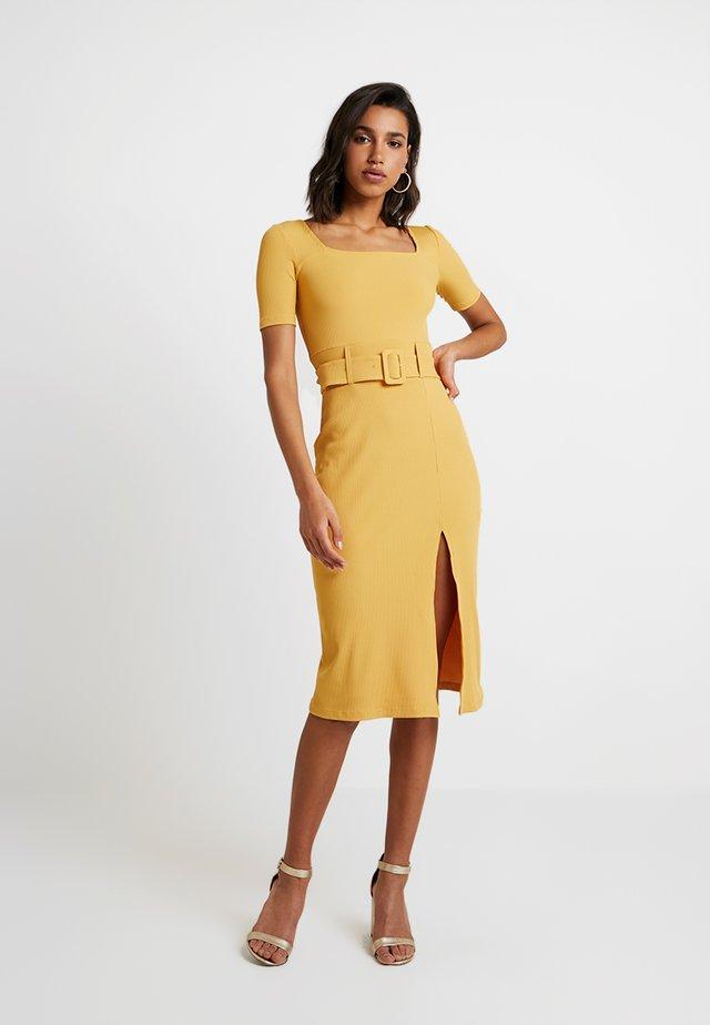 MADISON - Shift dress - yellow