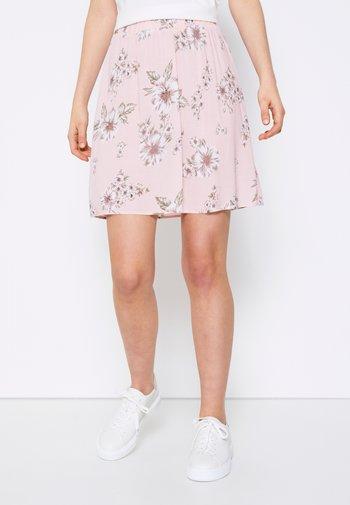 TESSA SHORT - Minifalda - rose dust