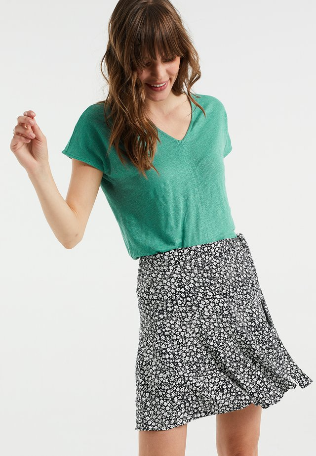 T-shirt basic - mint green