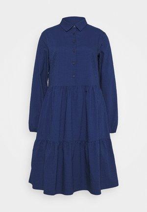 DRESS BUTTON PLACKET - Denní šaty - scandinavian blue