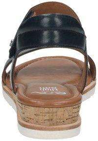 ara - Sandaletter med kilklack - blau - 2