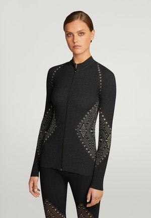 MARINA - Vest - ash/black