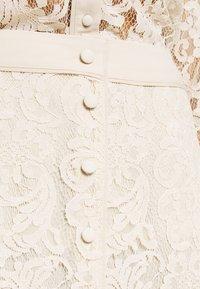 Rosemunde - SKIRT - Áčková sukně - whisper beige - 4