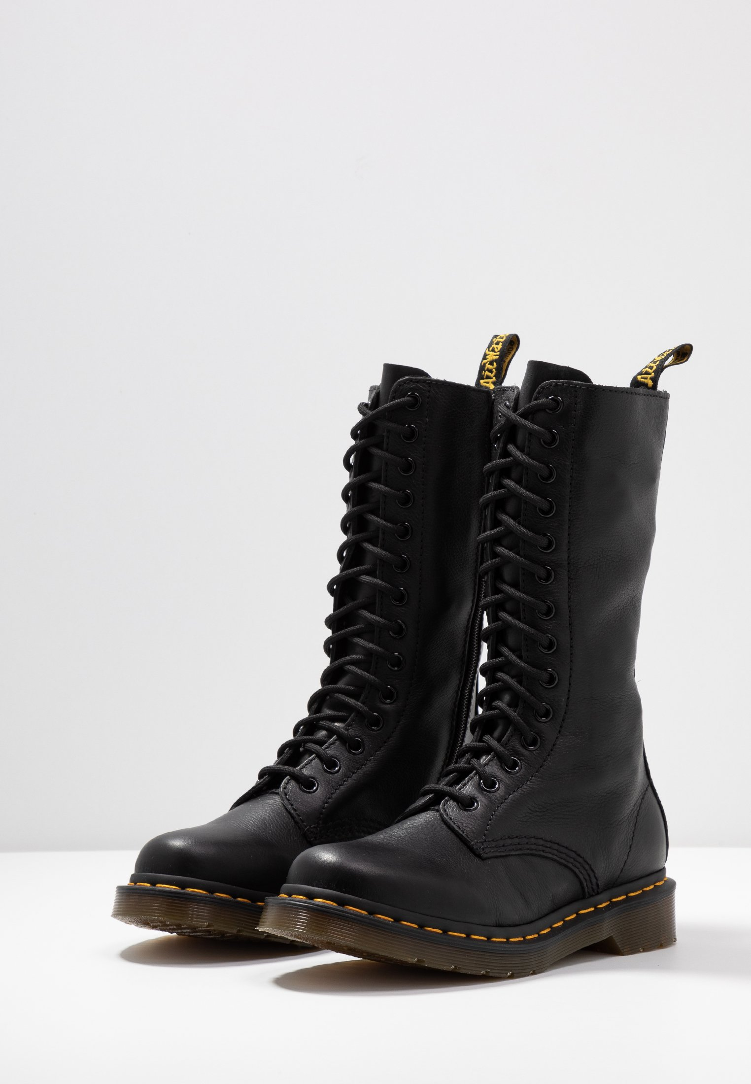 Women VIRGINIA - Lace-up boots - black
