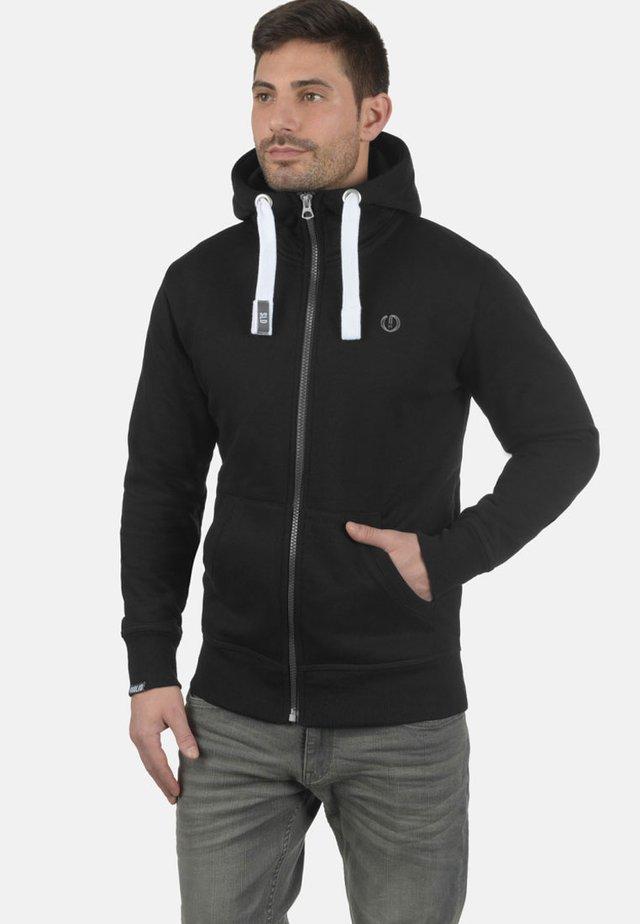 BENN  - Zip-up hoodie - black