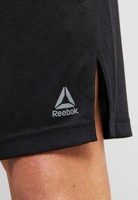 Reebok - TRAINING SHORTS - Sports shorts - black - 4