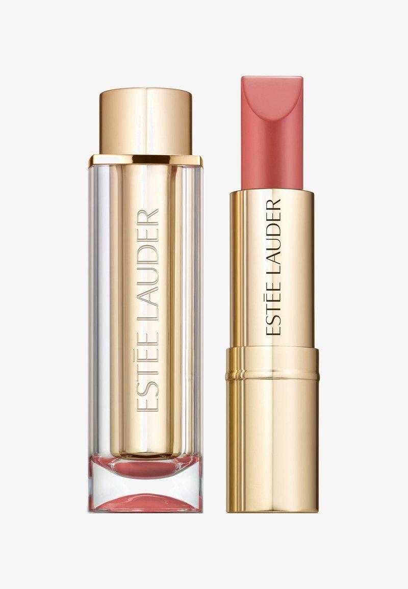 Estée Lauder - PURE COLOR LOVE LIPSTICK MATTE - Rouge à lèvres - 100 blaise buff