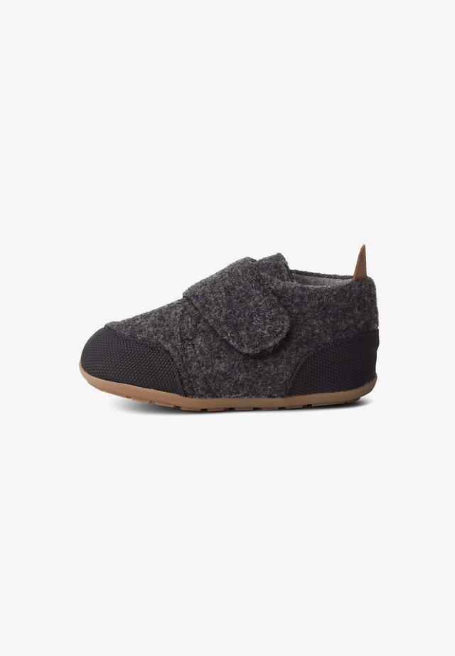 BUP - Lær-at-gå-sko - natural black