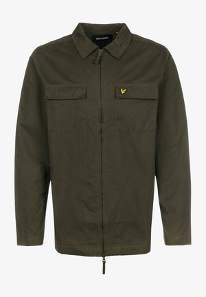 Summer jacket - trek green