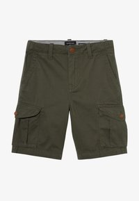 Quiksilver - CRUCIAL BATTLE YOUTH - Pantaloni cargo - thyme - 3