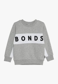 Bonds - COOL - Sweatshirts - new grey marle/white - 0