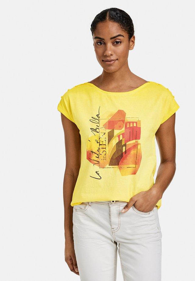 Print T-shirt - summer sun gemustert