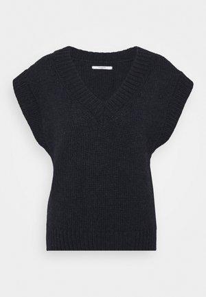 VEA - Stickad tröja - navy