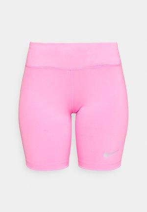 FAST SHORT - Punčochy - pink glow/silver