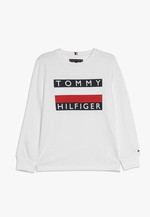 ESSENTIAL TEE - Topper langermet - white