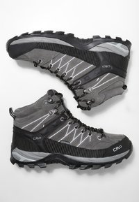 CMP - RIGEL MID TREKKING SHOES WP - Hiking shoes - grey - 1