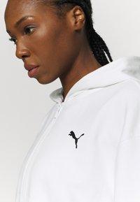 Puma - PAMELA REIF X PUMA COLLECTION FULL ZIP HOODIE - veste en sweat zippée - star white - 6
