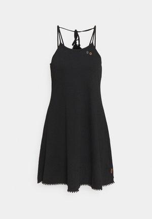 SERAFINA - Jerseykjole - black