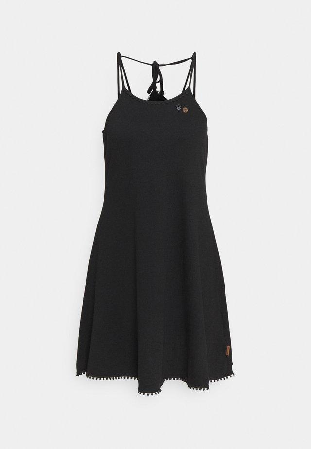 SERAFINA - Robe en jersey - black