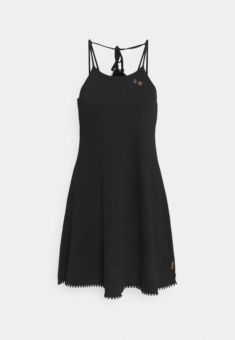 Ragwear - SERAFINA - Jersey dress - black