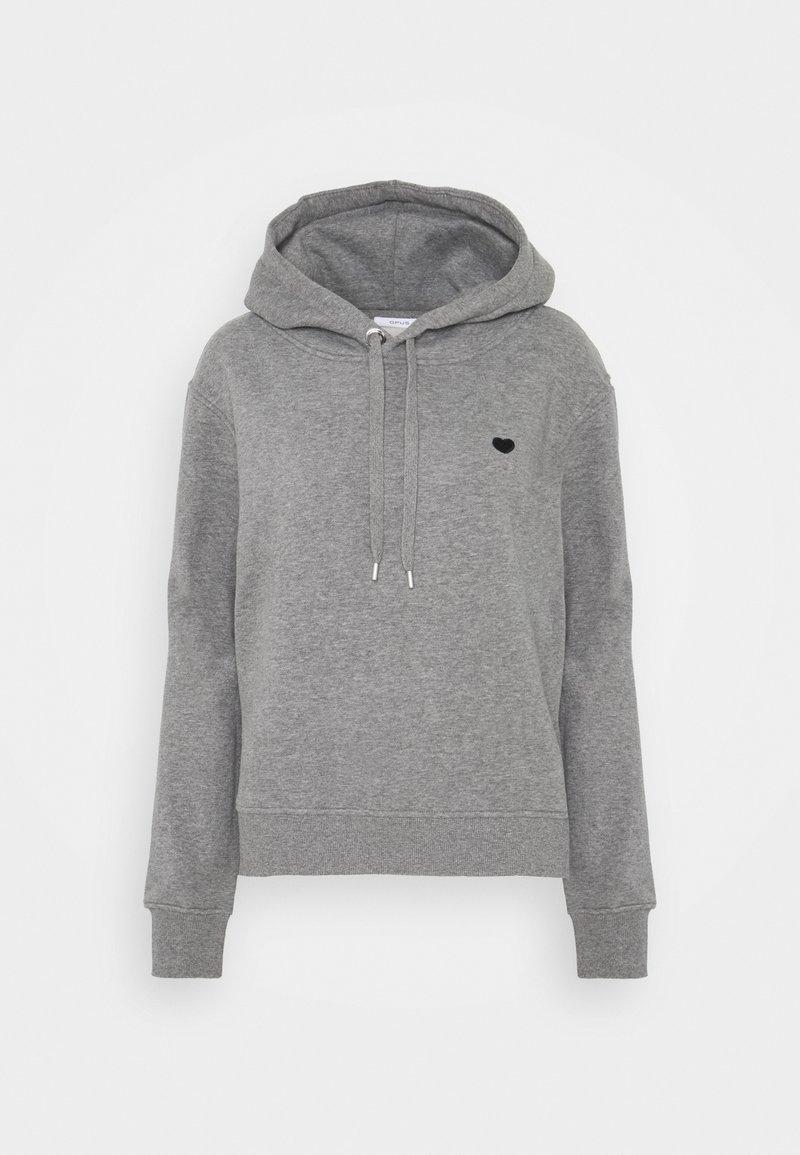 Opus - GADIRA - Hoodie - easy grey