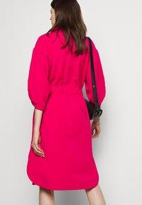 Marc Cain - Jersey dress - pink - 5