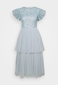 Maya Deluxe - DELICATE SEQUIN TIERED DRESS - Cocktail dress / Party dress - glacier blue - 5