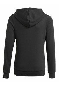 adidas Performance - ESSENTIALS - Zip-up sweatshirt - black - 1