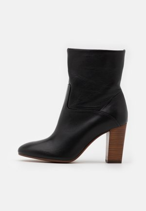 BRINDLEY BOOTS - High heeled ankle boots - black