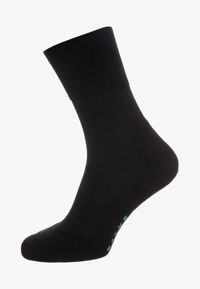 FALKE RUN SOCKEN BLAU - Sokker - black