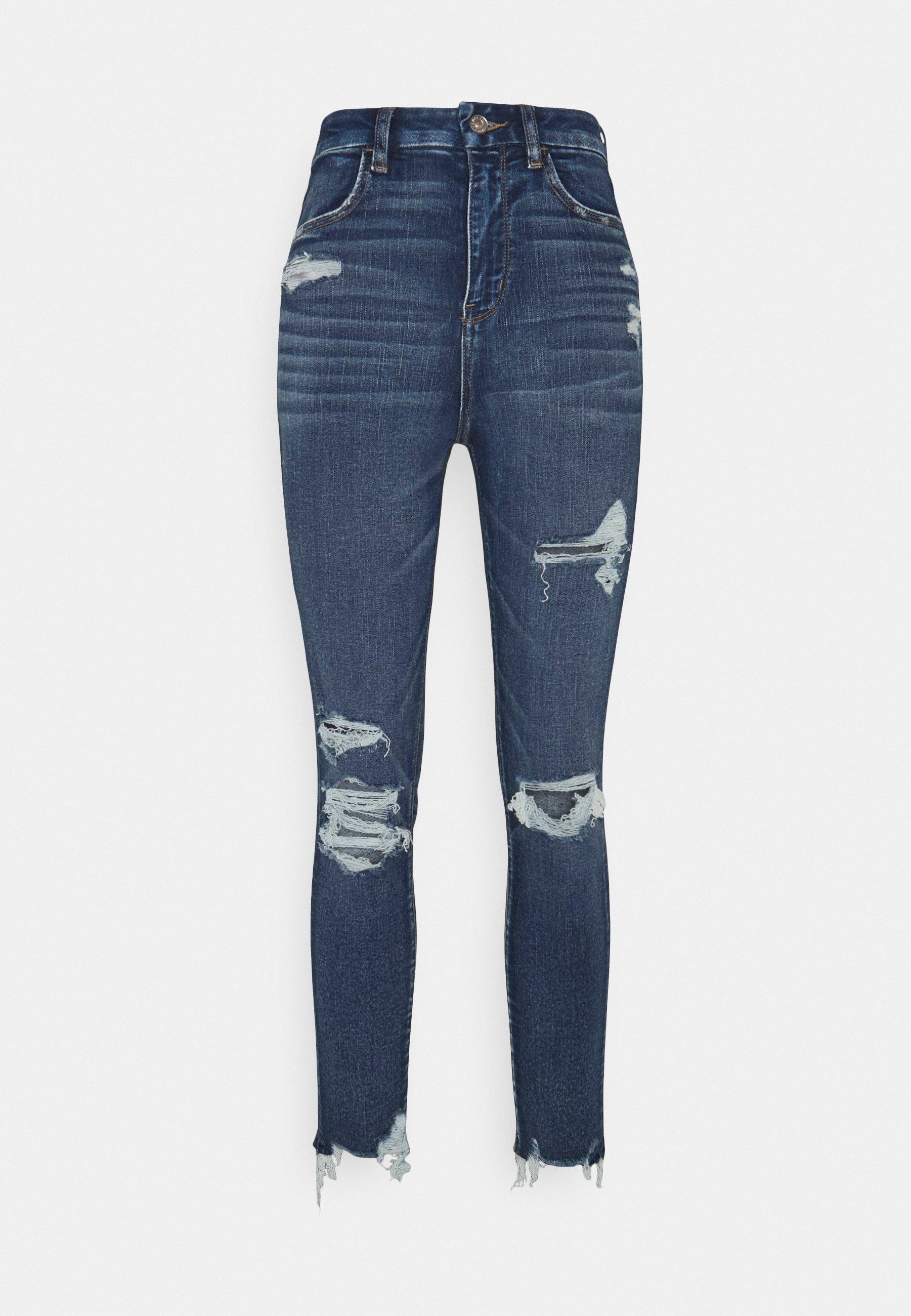 Women CURVY SUPER CROP - Jeans Skinny Fit
