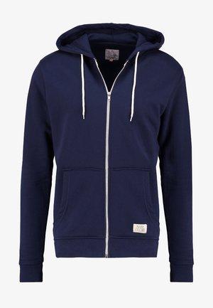REGULAR FIT - veste en sweat zippée - navy