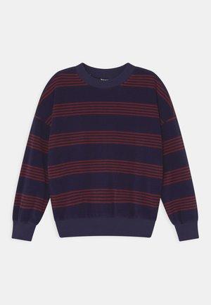UNISEX - Sweatshirt - evening blue/burgundy