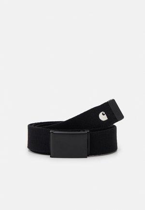 MADISON BELT UNISEX - Belt - black