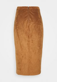Abercrombie & Fitch - Pencil skirt - tan - 1