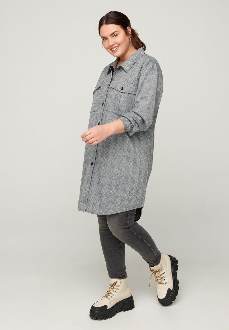 Zizzi - Tunika - grey