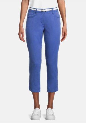 Trousers - deep ultramarine