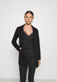 ONLY - ONLBAKER SENIA COATIGAN - Blazer - black - 0