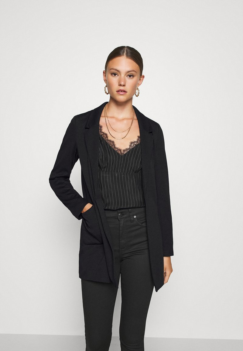 ONLY - ONLBAKER SENIA COATIGAN - Blazer - black