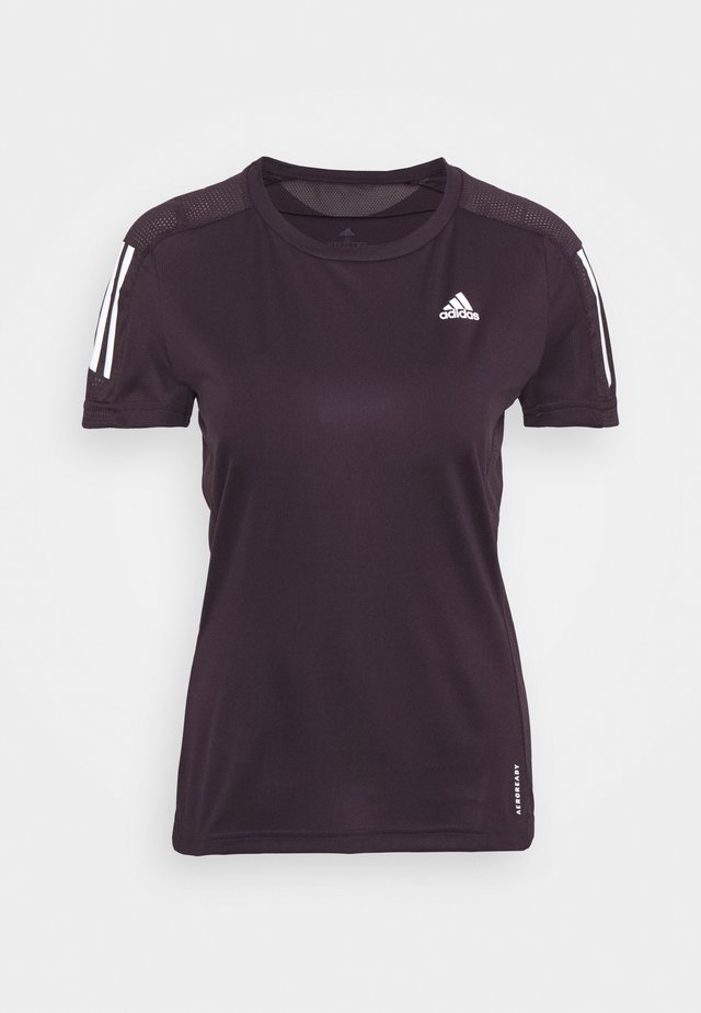 OWN THE RUN TEE - T-shirt imprimé - purple