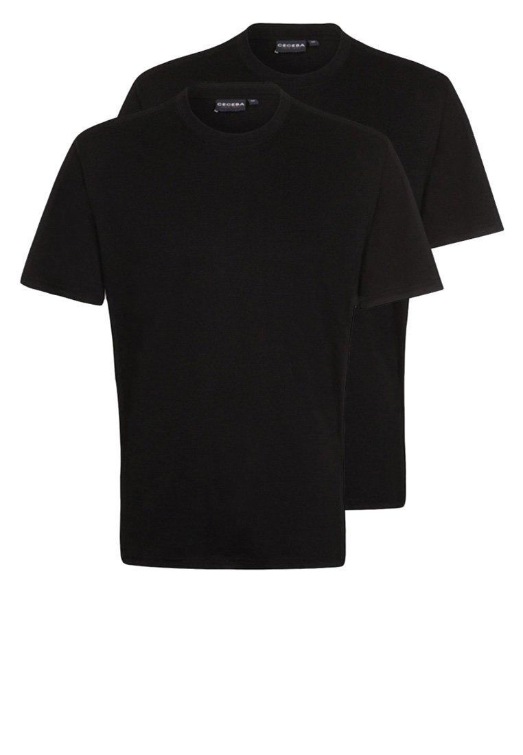 Ceceba - 2 PACK - Nachtwäsche Shirt - black
