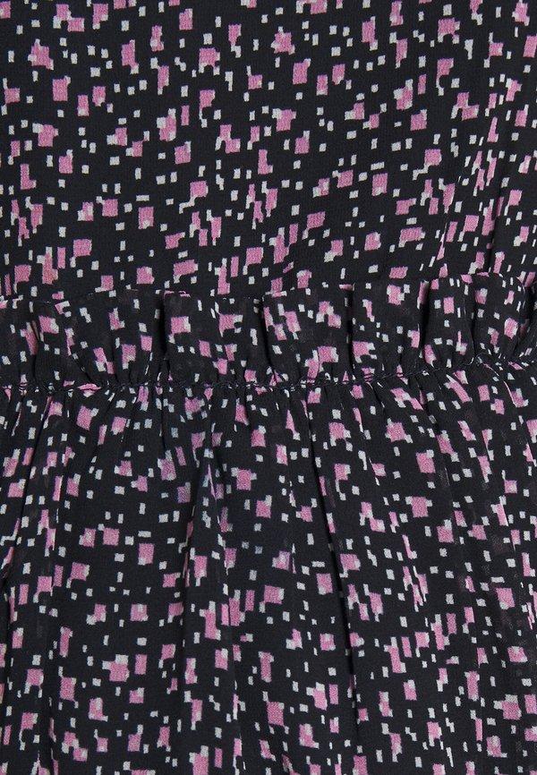 Pieces Maternity PCMMISTY - Bluzka - sky captain/pink/granatowy KCXI